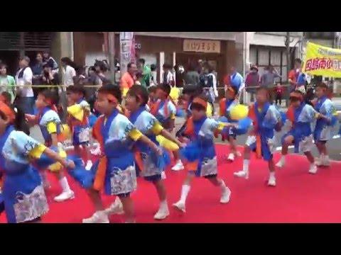 因島南小学校ええじゃんSANSA・がり踊り(尾道みなと祭2016)
