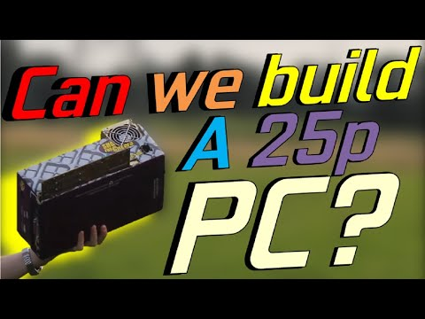 Can we build a PC for £0.25 ($0.30)?