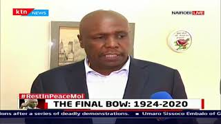 #RIPMOI: Standard group CEO Orlando Lyomu pays tribute to Former President Moi