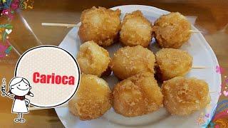 Carioca | Cascaron | Glutinous Rice Recipe