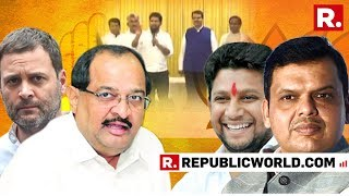 Sujay Vikhe Patil Meets Maharashtra CM Devendra Fadnavis Ahead Of Being Inducted Into The BJP