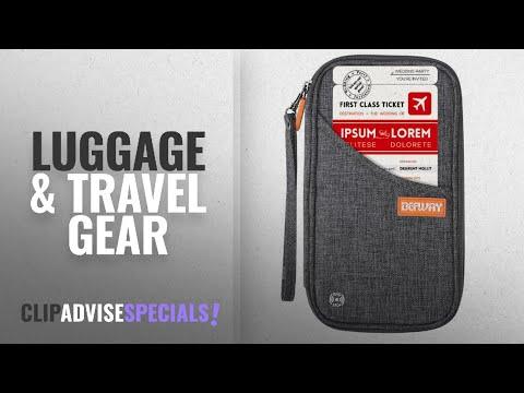 10 Best Selling Defway Luggage & Travel Gear [2018 ]: DEW Travel Wallet RFID Blocking Waterproof