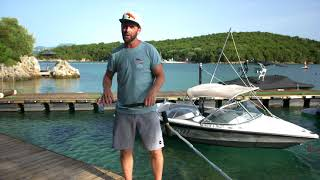 #6 Boat Wakeboard Begginer – Surf carving