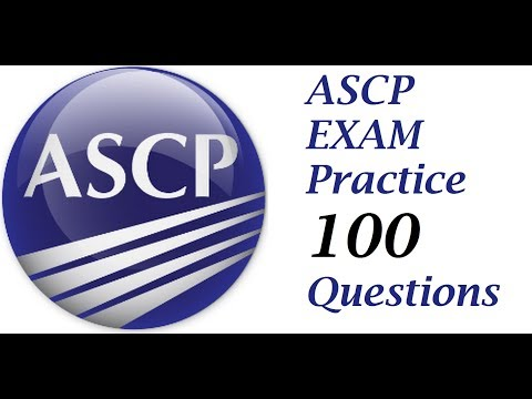 Questions to prepare for ASCP 1 to 50 PART 1 - YouTube
