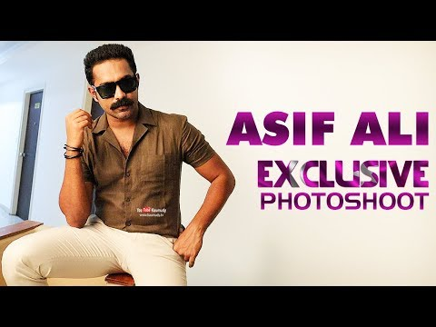 Asif Ali   Latest Viral Photoshoot for Flash Movies   Behind the Scenes   #Exclusive
