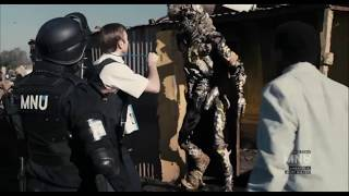 DIstrict 9   MNU Begin To Evict The Aliens Using Cat Food [Clip 2 Of 13]