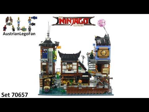 Vidéo LEGO Ninjago 70657 : Les quais de la ville Ninjago