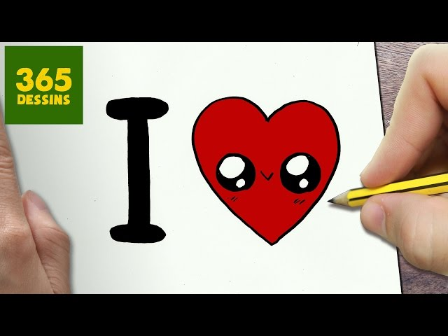 Video Comment Dessiner I Love Kawaii Etape Par Etape Dessins