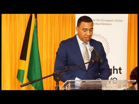 AUDIO: #SpotlightENDViolence -Prime Minister Holness on Eliminating Violence Against Women & Girls