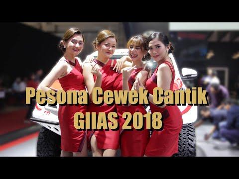 Pesona Cewek Cantik GIIAS 2018