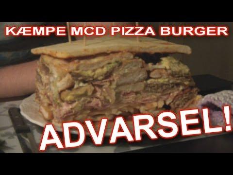 McD PIZZA BURGER = VERDENS BEDSTE!!