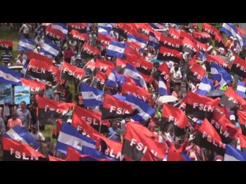 """Simpatizantes de Ortega piden """"justicia y reparación"""" a favor del Gobierno en Nicaragua"""
