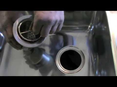 Stainelec 90mm Sink Swaging Demonstration For Scrap Traps