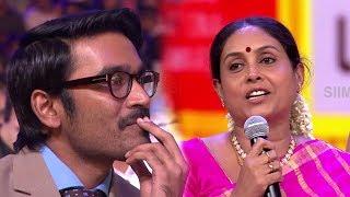 Dhanush Gets Emotional On Saranya's Speech