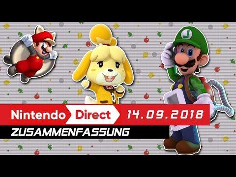 Nintendo Direct 14.09.18 - Zusammenfassung und meine Meinung (видео)
