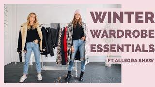 Winter Wardrobe Essentials Ft. Allegra Shaw