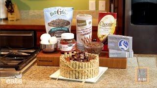 Gluten-Free Chocolate Hazelnut Cheesecake with ALDI and Brigitte Nguyen