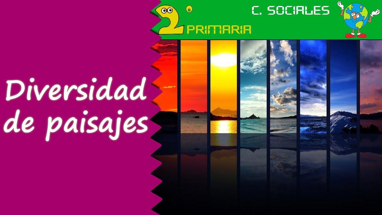 Ciencias Sociales. 2º Primaria. Tema 3. Diversidad de paisajes