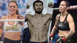 Сайборг готова проиграть Роузи, боец уволен из UFC, Арман Оспанов против Расула Мирзаева