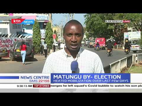 Matungu by-election : Monday marked the last day of campaigns with vote rigging claims dominating