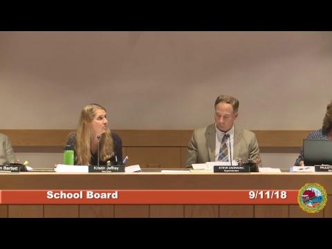 School Board 9.11.18