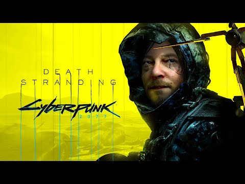 Collaboration Death Stranding X Cyberpunk 2077 de Death Stranding