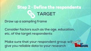 9 Steps to a well structured questionnaire