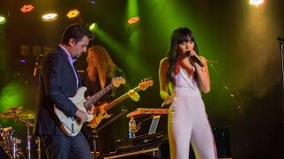 Dami Im duels 'Top of the World' with Guitar at her #YOMTour After Party!