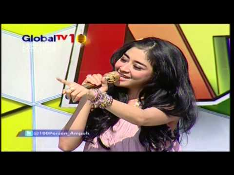 UUT PERMATASARI Live At 100% Ampuh (30-08-2012) Courtesy GLOBAL TV Mp3