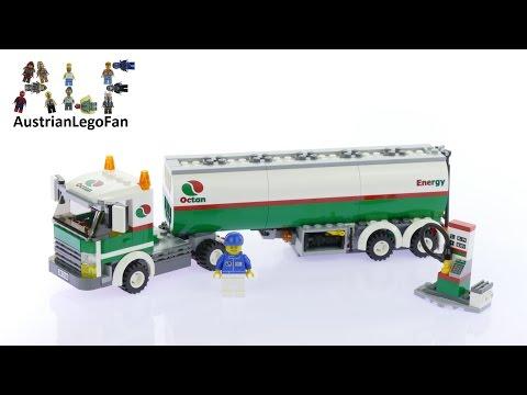Vidéo LEGO City 3180 : Le camion-citerne