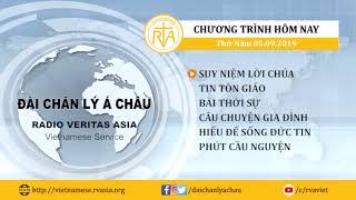 CHƯƠNG TRÌNH PHÁT THANH, THỨ NĂM 05092019
