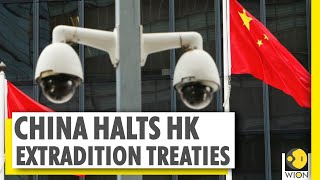 China suspends Hong Kong extradition treaties with Canada, Australia, UK
