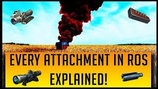 Gambar cover EVERY ATTACHMENT IN RULES OF SURVIVAL EXPLAINED!