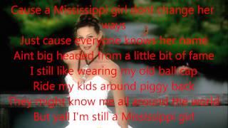Faith Hill Mississippi Girl