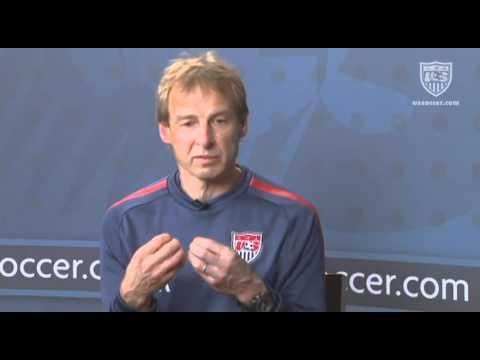 U.S. Soccer Interview with Jurgen Klinsmann