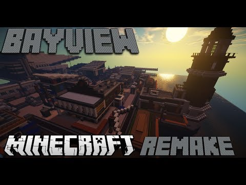 Minecraft Bayview Call Of Duty Ghosts Multiplayer Map Remake