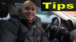 Reverse To The Left And Right-Tips For The Driving Test