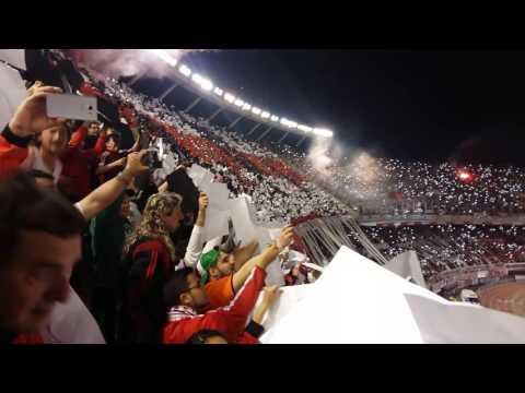 """""""Recibimiento River vs. Independiente Santa Fe - Recopa Sudamericana 2016"""" Barra: Los Borrachos del Tablón • Club: River Plate"""