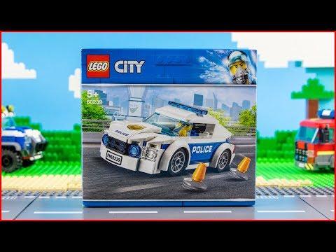 Vidéo LEGO City 60239 : La voiture de patrouille de la police