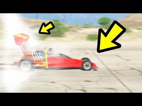 THE FASTEST CAR IN GTA 5!! (World Record)