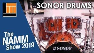 L&M @ NAMM 2019: Sonor Drums