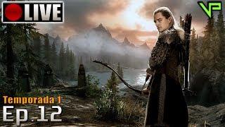 SKYRIM - Legolas Role Play! (PC - Mods - PTBR) Temporada 1 - Ep.12