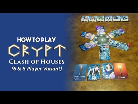 """How to play Crypt """"Clash of Houses"""" (6 & 8-Player Variant)"""