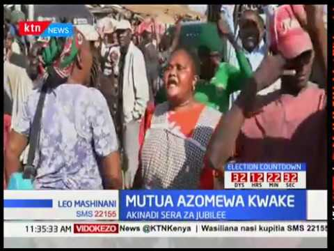 Afred Mutua azomewa aliposema anamwunga mkono Uhuru Kenyatta