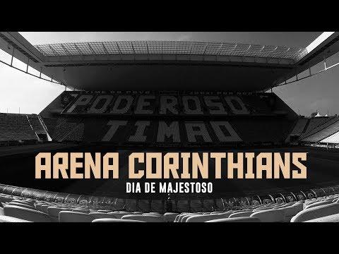 Arena Corinthians em dia de Majestoso