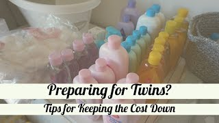My Top Tips for Saving Money When Preparing for Twins! // Twin Pregnancy // We Found Our Wings