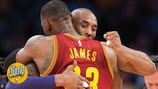Kobe Bryant on LeBron James going to Lakers: 'I'm really, really excited' | The Jump | ESPN