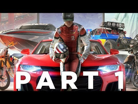 THE CREW 2 Walkthrough Gameplay Part 1 - INTRO (Xbox One X)