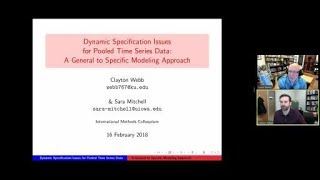"Clayton Webb, ""Dynamic Specification Issues for Pooled Time Series Data"""