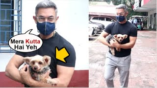 Aamir Khan VIDEO Taking His DOG To Hospital After She Gets Unwell